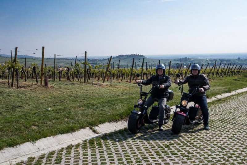 Riqu'EcoTour : sortie en scooter électrique